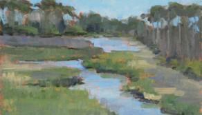 Marsh View, 9x12