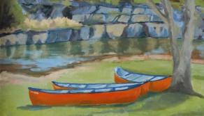 Canoe Creek, 18x24