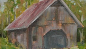 Country Barn, 8x10
