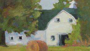 Remembering Schilling Farms Barn, 12x16