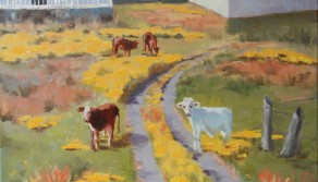 Till the Cows Come Home, 18x24